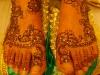 Amel henna feet