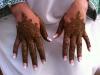 Ikram bridal henna Fessia hands
