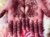 Naomi bridal henna palms