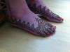 Ikram bridal henna Fessia feet