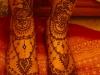 Sakina henna feet