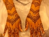 Sakina henna hands glitter