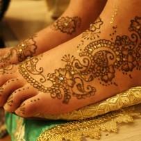 Bridal Henna feet Amel