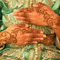Bridal henna hands Amel