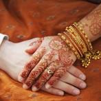 Mehndi bride&groom
